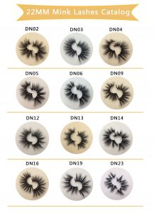 22mm Siberian Wholesale Mink Lashes