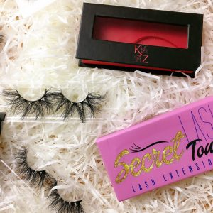 mink lashes packaging